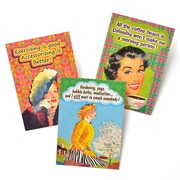 Gartner Greetings Boutique Greeting Cards, 3 pack - Blank Card