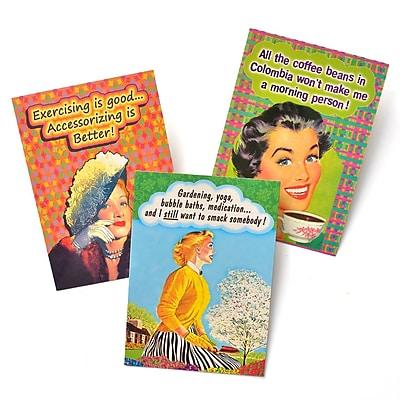 Gartner Greetings Boutique Greeting Cards, 3 pack - Blank Card