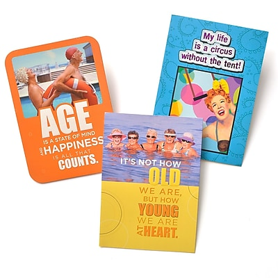 Gartner Greetings Boutique Greeting Cards, 3 pack - Birthday, Juggle