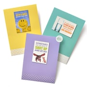 Gartner Greetings Boutique Greeting Cards, 3 pack - Birthday, Big Dogs
