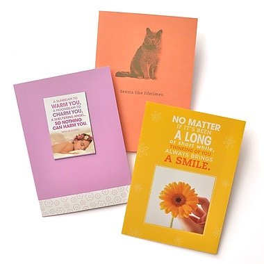 Gartner Greetings Boutique Greeting Cards, 3 pack - Miss You, Thinking of You
