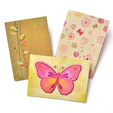 Gartner Greetings Premium Greeting Cards, 3 pack - Blank