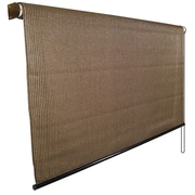 Coolaroo UV Block Outdoor Single Rolled Shade; 72'' W x 72'' L