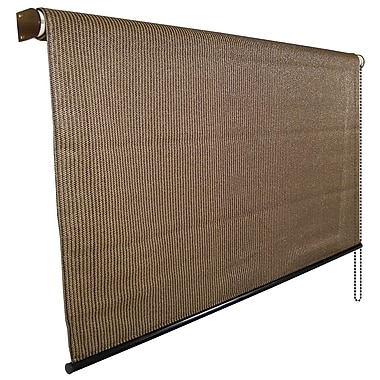 Coolaroo UV Block Outdoor Single Rolled Shade; 96'' W x 72'' L