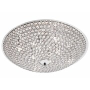 Dainolite Asscher 8 Light Flush Mount