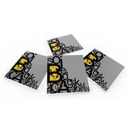 Maxwell Dickson ''Alphabets'' Coaster (Set of 4)