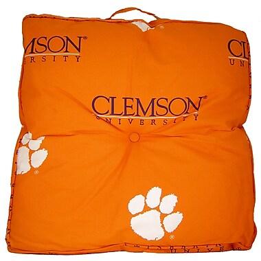 College Covers NCAA Clemson Floor Pillow