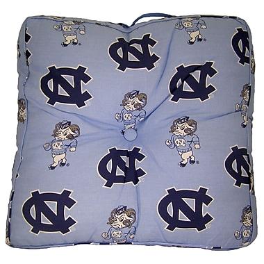 College Covers NCAA North Carolina Floor Pillow