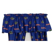 College Covers NCAA Florida Printed Rod Pocket Curtain Valance