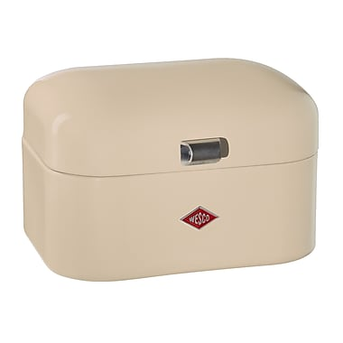 Wesco Single Grandy Bread Box; Almond