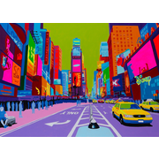 TAF DECOR Art-For-You Vibrant City 1 Graphic Art on Wrapped Canvas