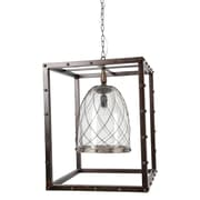 A&B Home 1-Light Inverted Pendant