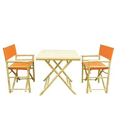 Buyers Choice Phat Tommy 3 Piece Bistro Set; Tuscan