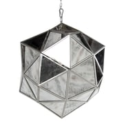 A&B Home 1-Light Mini Pendant; 24'' H x 21'' W x 21'' D