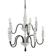A&B Home 8-Light Candle-Style Chandelier