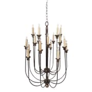 A&B Home 16-Light Candle-Style Chandelier