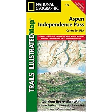 Universal Map Aspen/Independence Pass County Map