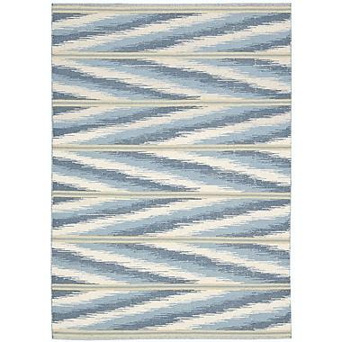 Barclay Butera Malika Handmade Frost Area Rug; 3'9'' x 5'9''