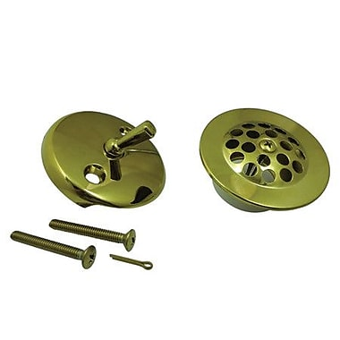 Kingston Brass Made to Match Trim Conversion Kit Shower Drain; Polished Brass