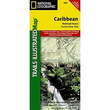 Universal Map Caribbean National Forest Map