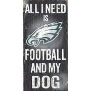 Fan Creations NFL Football and My Dog Textual Art Plaque; Philadelphia Eagles