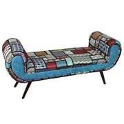 Entrada Wood/Upholstered Bedroom Bench