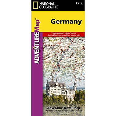 Universal Map Germany Adventure Map