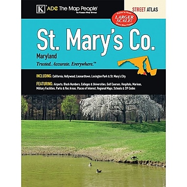 Universal Map St. Mary's County Maryland Atlas