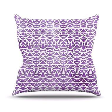 KESS InHouse Tribal Mosaic Outdoor Throw Pillow; 16'' H x 16'' W x 3'' D