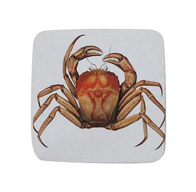 Golden Hill Studio Mud Crab Coaster (Set of 8)