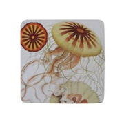 Golden Hill Studio Jelly Fish Coaster (Set of 8)