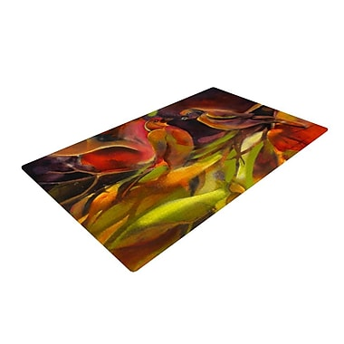 KESS InHouse Mirrored in Nature Novelty Rug; 2' x 3'