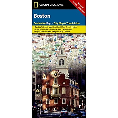 Universal Map Boston Destination City Map and Guide