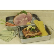 Cook Pro All In One 4-Piece Lasagna Pan and Roasting Pan Set w/ Rack