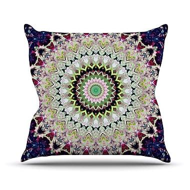 KESS InHouse Summer of Folklore Outdoor Throw Pillow; 14'' H x 20'' W x 3'' D