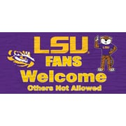 Fan Creations NCAA Fans Welcome Graphic Art Plaque; University of Arkansas