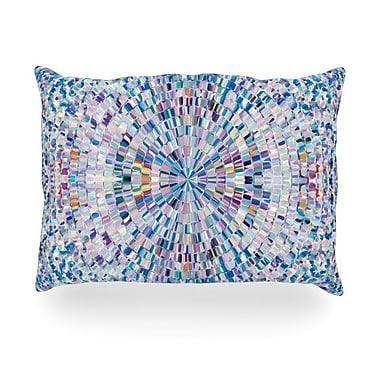 KESS InHouse Looking Outdoor Throw Pillow; 14'' H x 20'' W x 3'' D