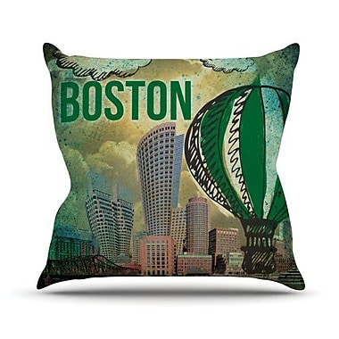 KESS InHouse Boston Outdoor Throw Pillow; 26'' H x 26'' W x 4'' D