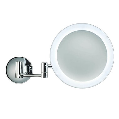 WS Bath Collections Pure LED Magnifying Mirror