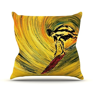 KESS InHouse Suppose Outdoor Throw Pillow; 20'' H x 20'' W x 4'' D