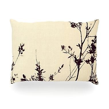 KESS InHouse Silhouette Outdoor Throw Pillow; 14'' H x 20'' W x 3'' D