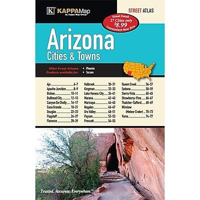 Universal Map Arizona Cities and Towns Atlas
