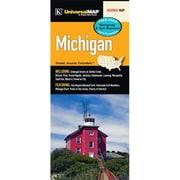 Universal Map Michigan Laminated Map
