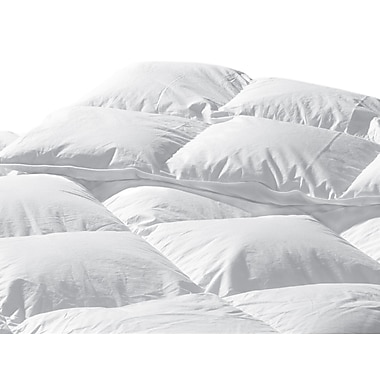 Highland Feathers 233Tc 700 Loft Standard Fill Twin Size 21Oz Organic Cotton European White Down Duvet