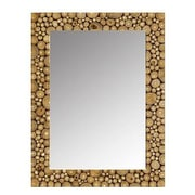 Modern Day Accents Ramita Wall Mirror; 36'' H x 28'' W x 2'' D