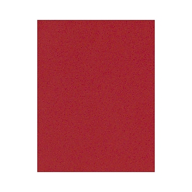 LUX 8 1/2 x 11 Cardstock 1000/Box, Ruby Red (81211-C-76-1000)