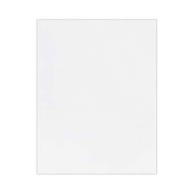 LUX 8 1/2 x 11 Cardstock, 100% Recycled, White, 500/Box (81211-C-98-500)