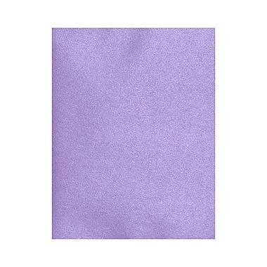 LUX ? Papier cartonné 8 1/2 x 11 po, améthyste métallique, 250/boîte (81211-C-04-250)