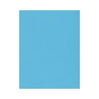 LUX 8 1/2 x 11 Paper, Bright Blue, 50/Box (81211-P-13-50)