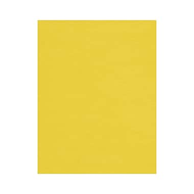 LUX 8 1/2 x 11 Cardstock, Bright Canary, 50/Box (81211-C-14-50)